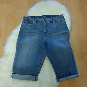 Chaps Denim Capri Jeans-Size 16